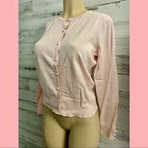 Ann Taylor pink sweater fall Winter new tags